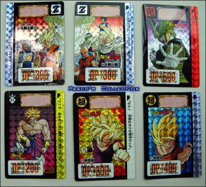 Dragon ball card
